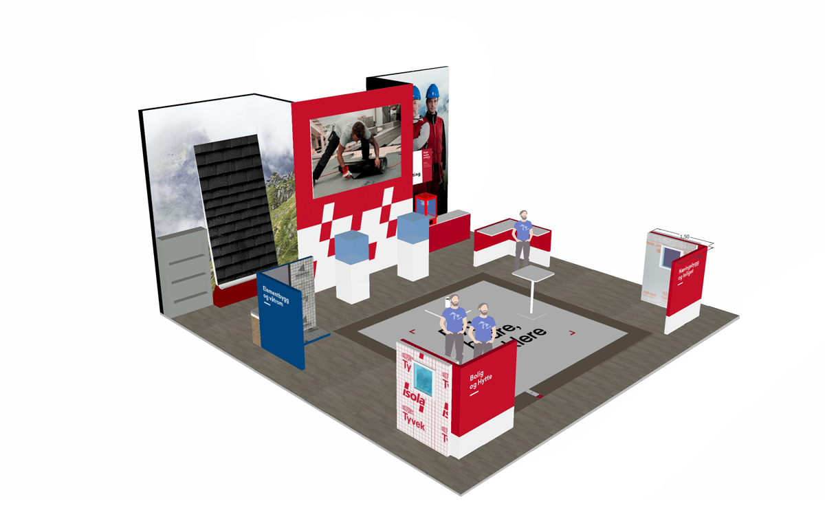 isola messestand